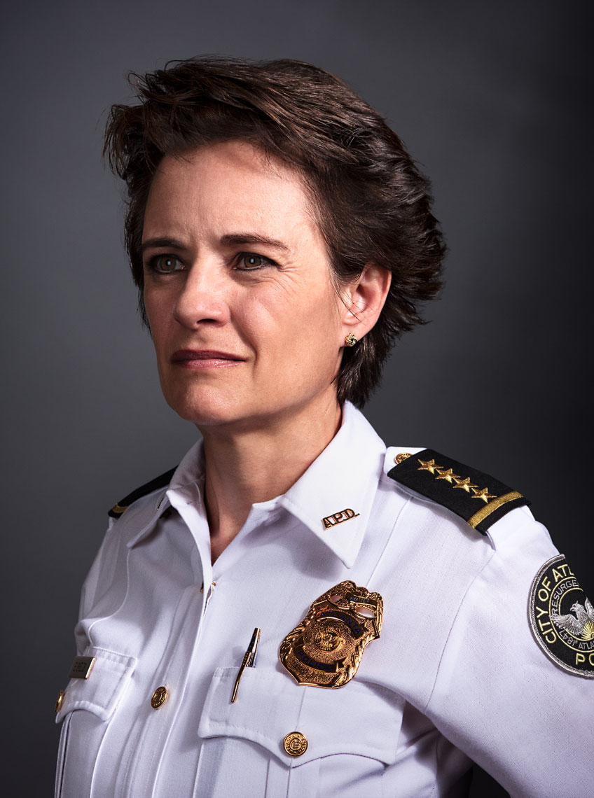Erika Shields - Atlanta Police Chief